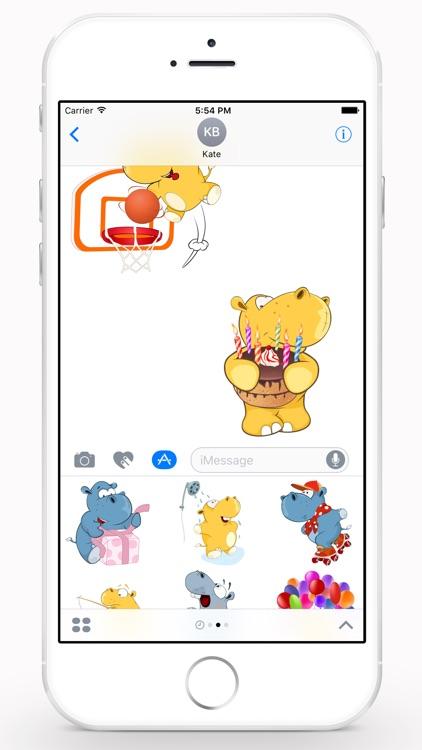 Cute Hippo screenshot-4