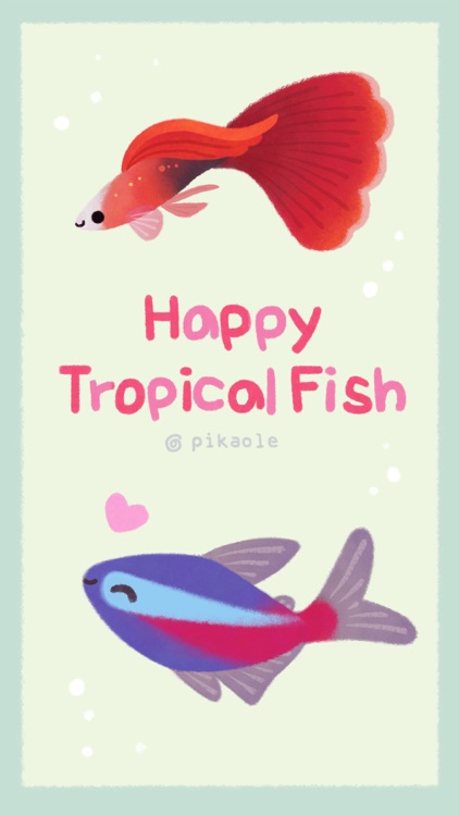 Happy tropical fish (taster)