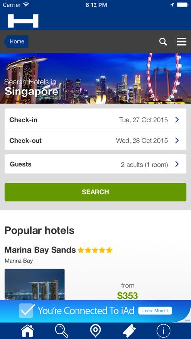 Singapur Hoteles + Compara y Reserva de hotel para esta noche con el mapa y viajes turísticosCaptura de pantalla de1