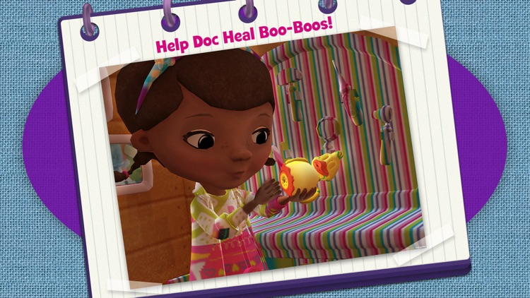 Doc McStuffins Color and Play screenshot-3