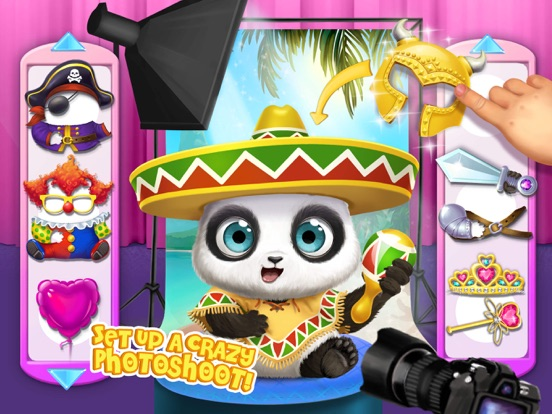 Panda Lu Baby Bear City No Ads для iPad