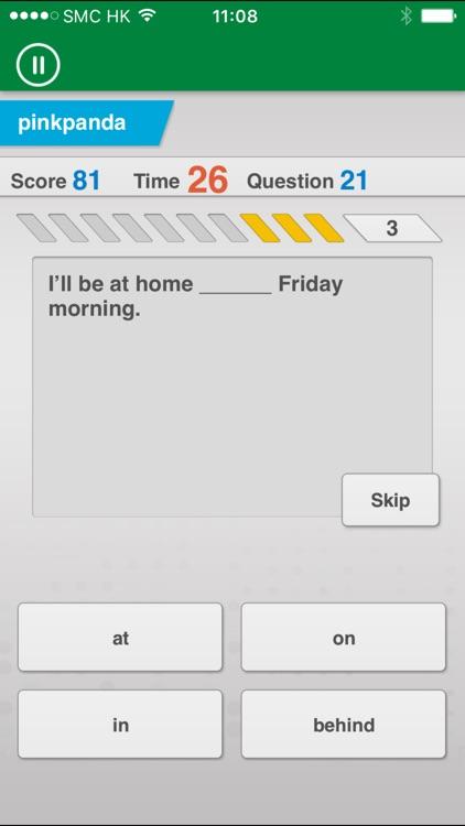 Johnny Grammar Word Challenge screenshot-0