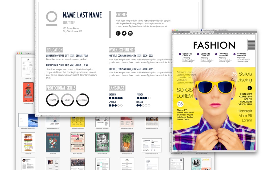 PSD Expert – Templates for Adobe Photoshop 3.0 Mac 破解版 – PSD素材模板-麦氪派(WaitsUn.com)