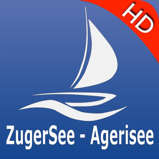 Zug - Aegeri Lakes Charts Pro