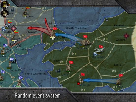 Screenshot #3 for Strategy & Tactics: Sandbox World War II TBS