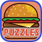 Food Puzzle for Kids - Jigsaw Puzzle Learning Games for Toddler and Preschool