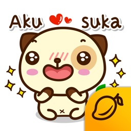 Pandadog (Bahasa Indonesia) - Mango Sticker