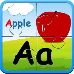Alphabet ABC jigsaw flash card