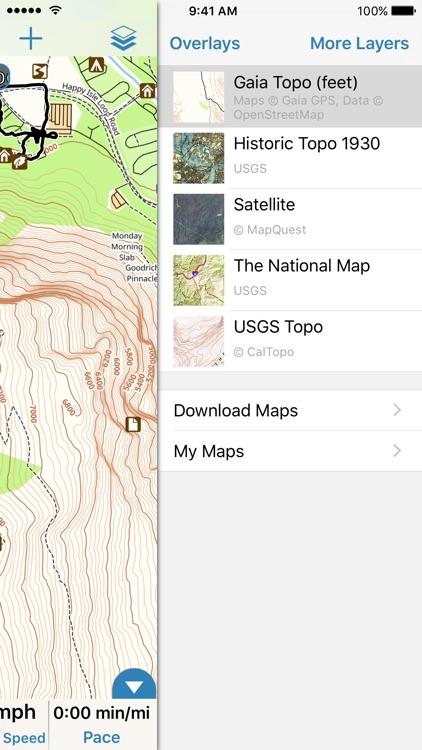 Gaia GPS Classic
