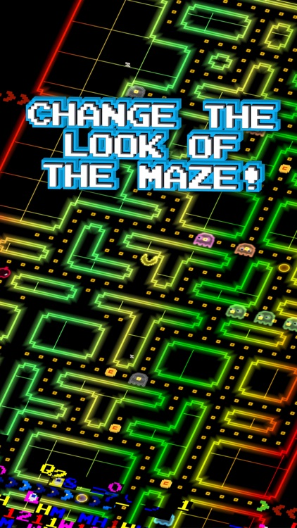 PAC-MAN 256 - Endless Arcade Maze screenshot-1
