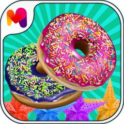 sweet donut maker for fair food - cooking game