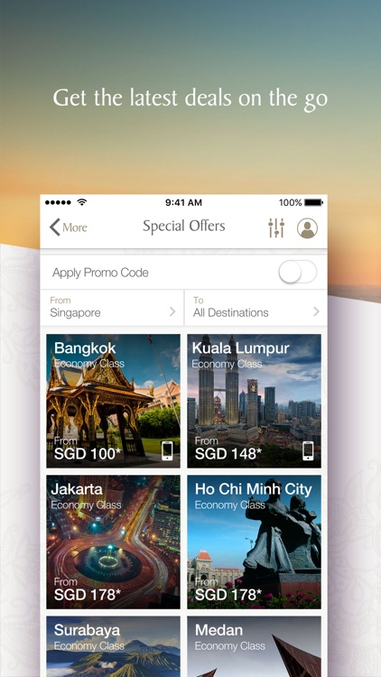 Singapore Airlines screenshot-0