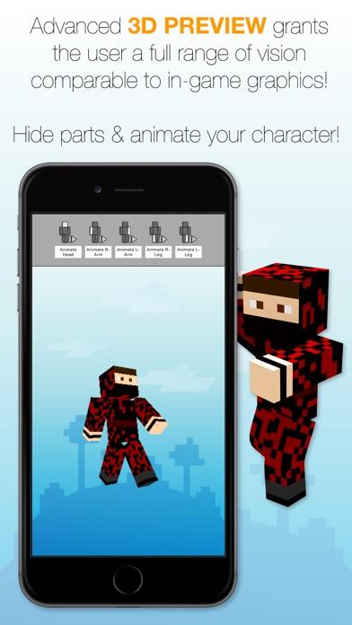 Best Skins Creator Pro review screenshots