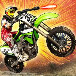 Dirt Bike Offroard ShotGun- Free 3D Shooting Games