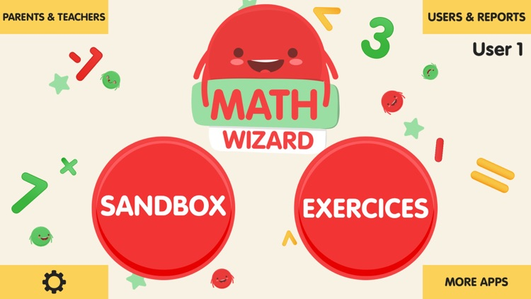 Math Wizard for Kids screenshot-0