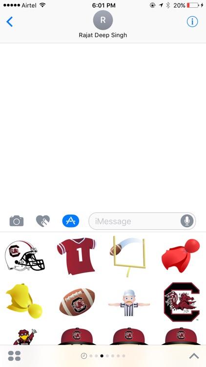 South Carolina Football Stickers