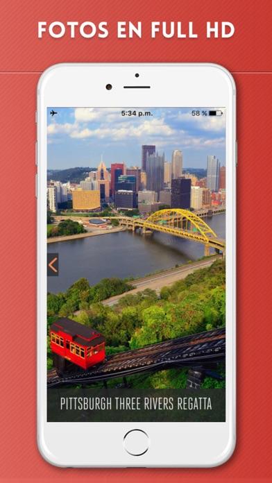 Pittsburgh Guía de Viaje con Mapa OfflineCaptura de pantalla de2