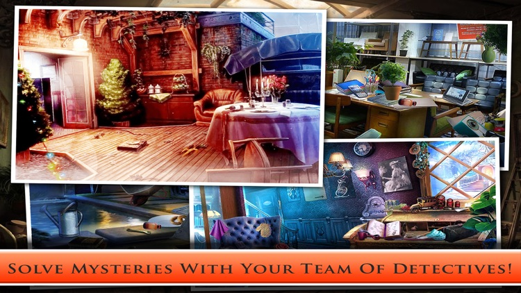 Case Of Murder Pro : Found Secret Clue - Crime Case Hidden object screenshot-3