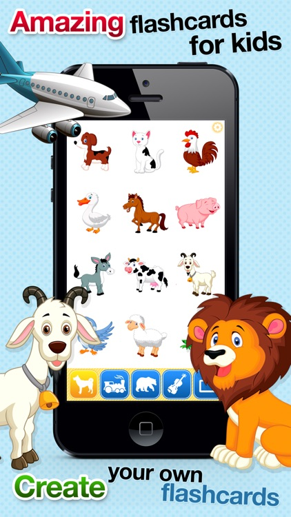 Toddler Learning Flashcards: Free Baby Kids Games screenshot-0