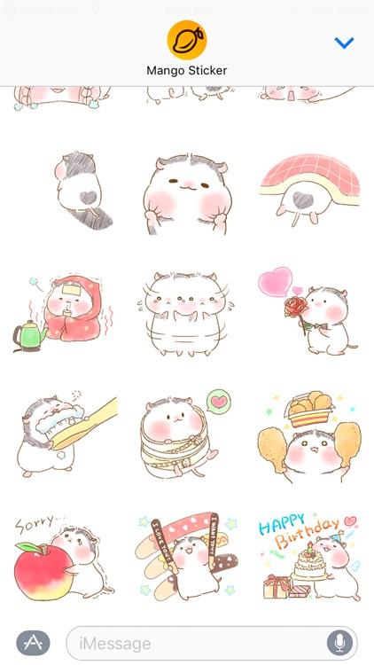 PandaMouse - Mango Sticker