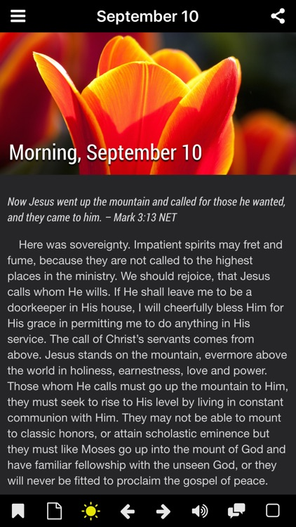 Morning and Evening With God - Daily Devotional screenshot-3