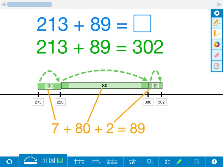 Number Line, by the Math Learning Center screenshot-4