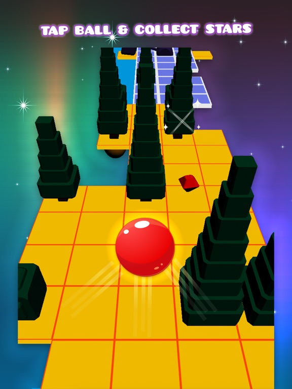 Red Ball Tower - Tap To Jump Endless Game-ipad-2