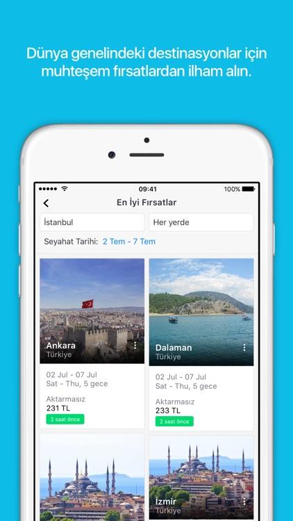 Skyscanner: Uçak bileti, otel