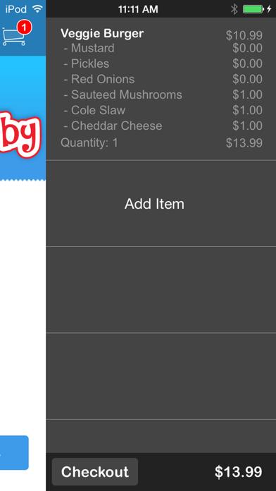 Burger Baby screenshot four