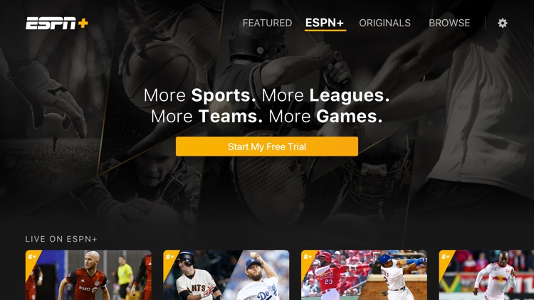 ESPN: Live Sports & Scores for Apple TV by ESPN