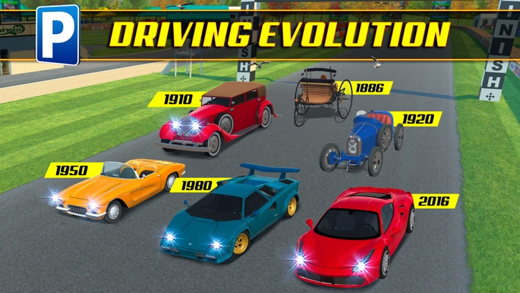 Driving Evolution Parking Sim Real Car Driver Test