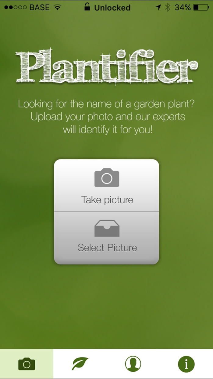 Plantifier Screenshot