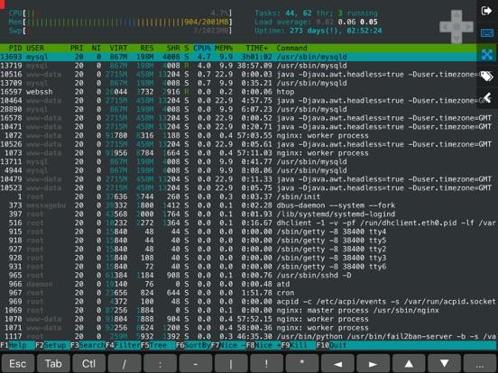 WebSSH Pro Скриншоты3