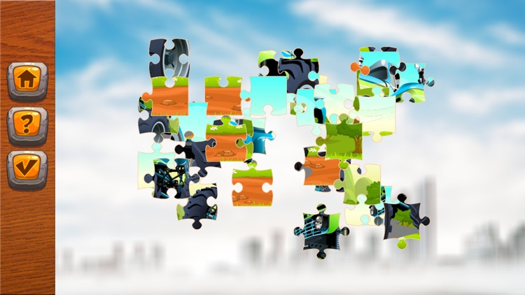 jigsaw puzzle car amazing learning education free screenshot-3