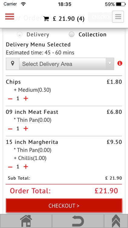 Feed Belly - takeaway food delivery screenshot-3
