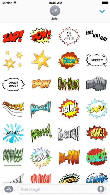 Comic Life Stickers