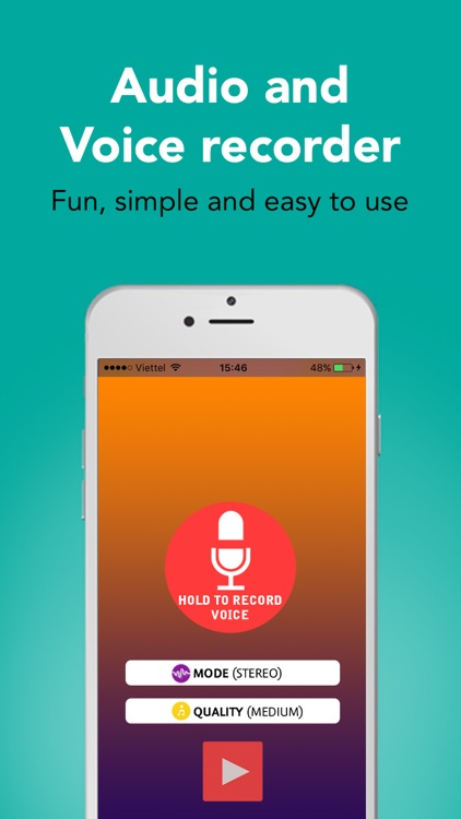 Hi-Q Voice Recorder Pro screenshot-0