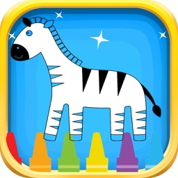 Animals Coloring Book for Children and Kids