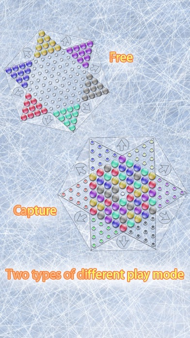 Screenshot Realistic Chinese Checkers