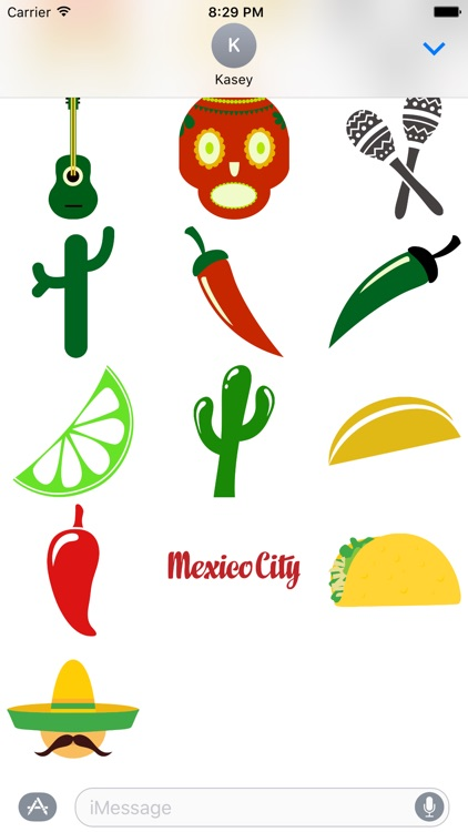 Mexico Sticker Pack