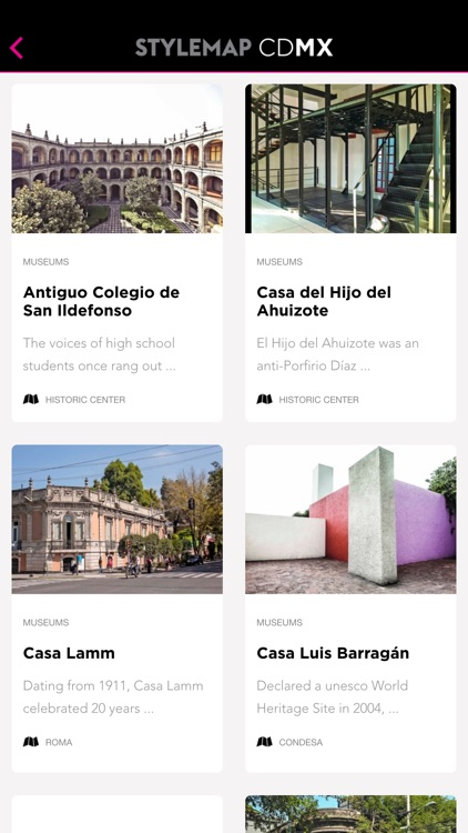 Mexico City Guide: Travesias Stylemap CDMX screenshot-3
