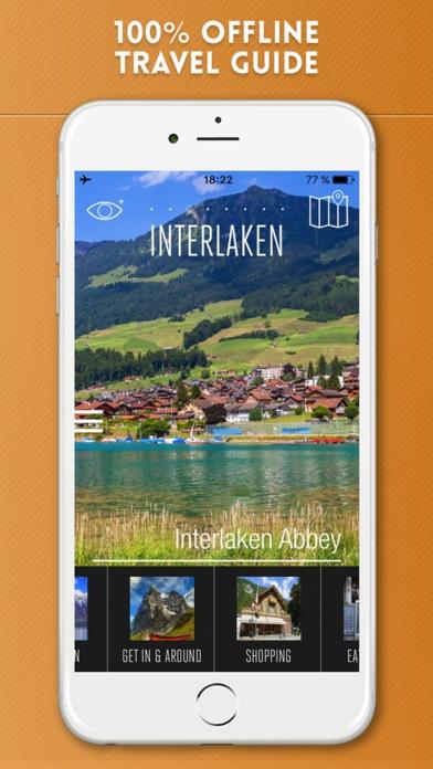 Interlaken Travel Guide and Offline City Map