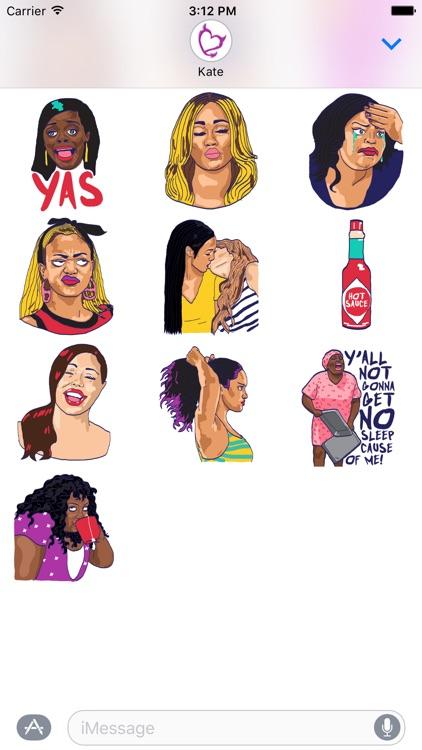 Bad Girls Club Stickers