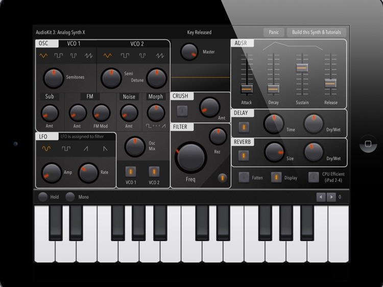 Ultra Piano: Realistic Piano Keyboard, Midi Melody and Full-featured Synthesizer.