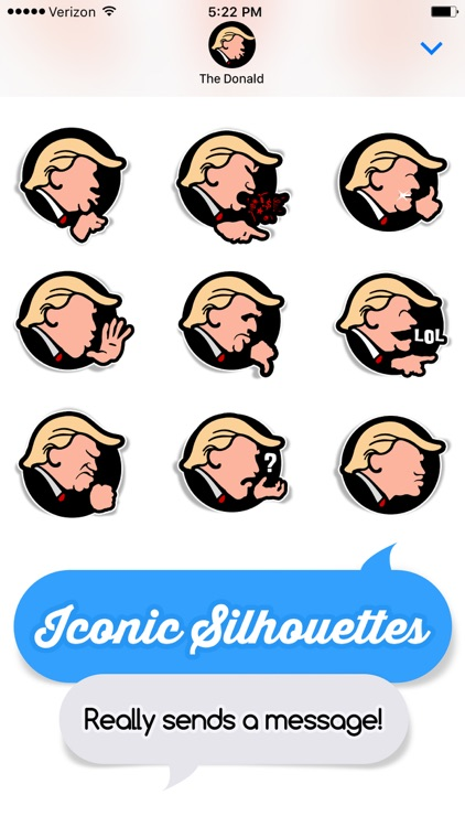 Trumped: Stickers