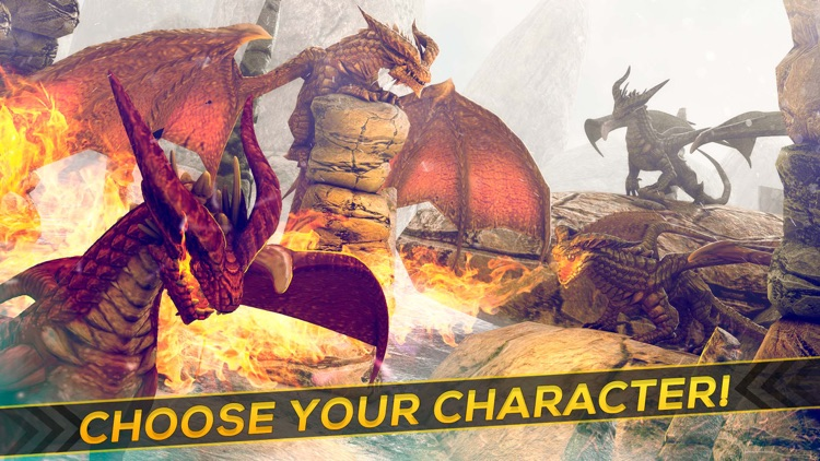 Dragon Simulator 2016 | Free Dragons Battle Game screenshot-2