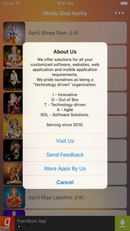 Hindu God Aartis screenshot-3