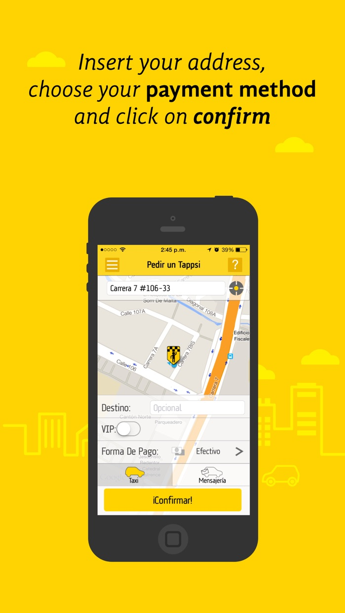 Tappsi - Safe Taxis Screenshot