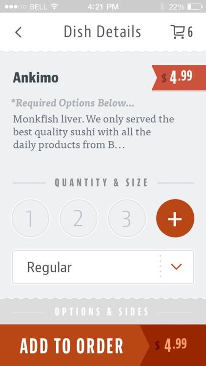 Kagawa Sushi Bar screenshot-3