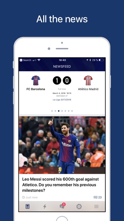 Barcelona Live — Goals & News screenshot-0